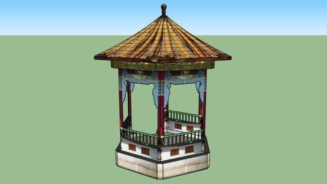 Pavilion in Chinese Garden Zürich