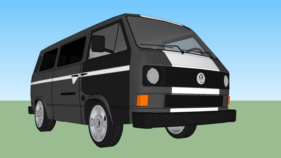 Modified VW Transporter T3