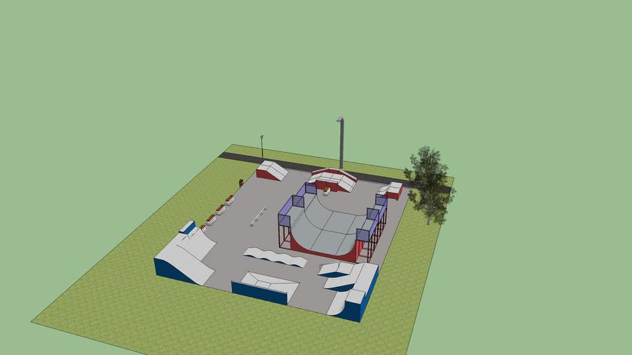 skatepark urk uitbreiding