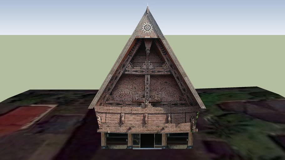 Rumah Adat Sumut, TMII