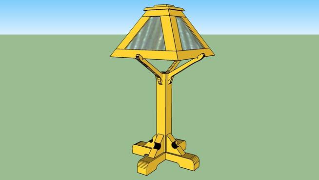 1905 WB Brown lamp reproduction