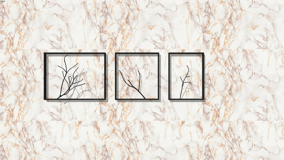 PLANTS+BRANCHES+TREE+MURAL+PAINTING+WALL HANGING+MURAL+TREE+ABSTRACT+JALI+CNC
