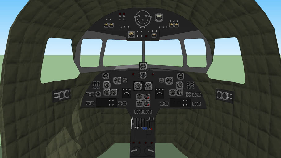 c-47 cockpit