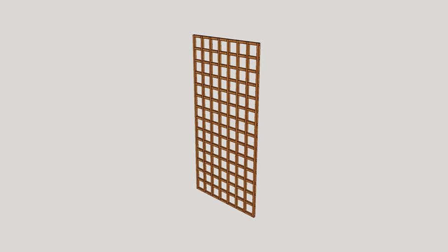 PAL 666 - Treillis LUCERA 90x180cm