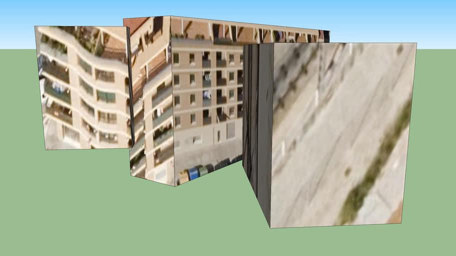 Edificio en Burjassot, España