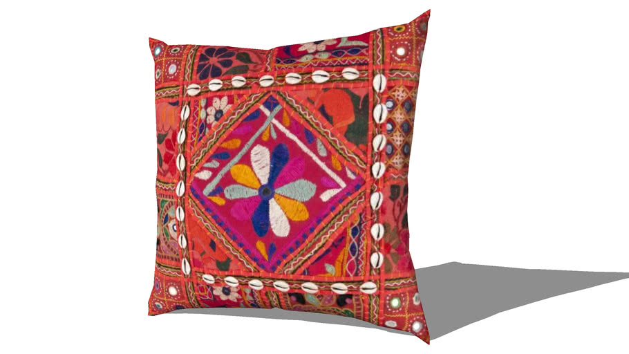 Pillow-Karma Red