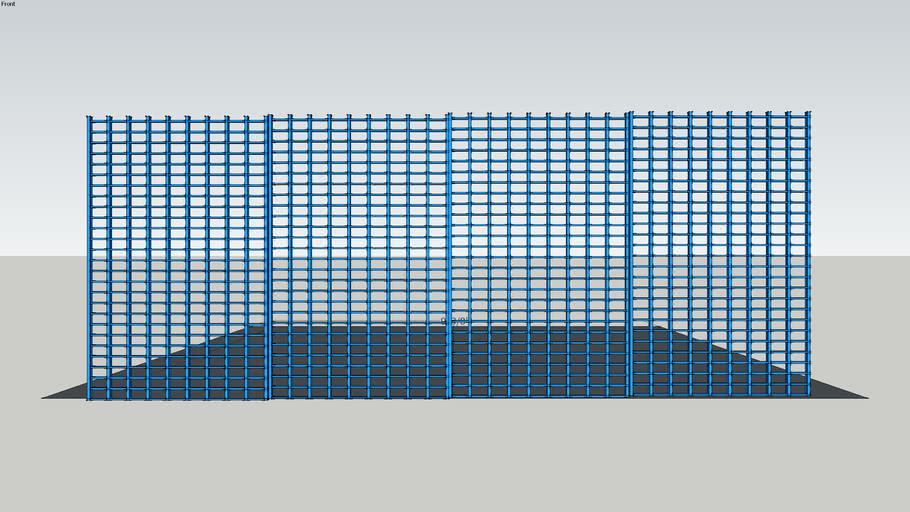 Gridwall | 2 x 4 (4 panels)