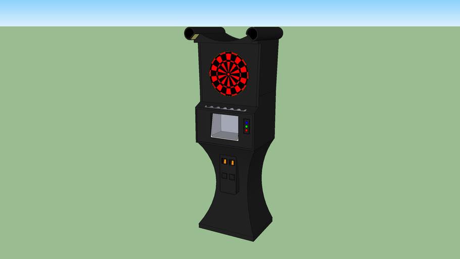 Arachnid Galaxy II Dart Machine