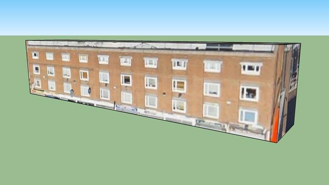 Building in Hackney, Greater London, UK