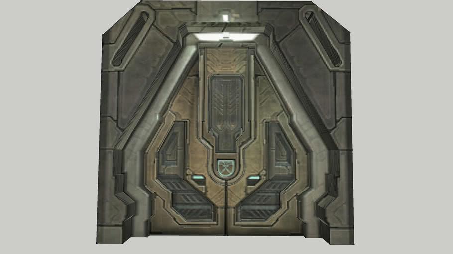 Halo 3 Forerunner Door