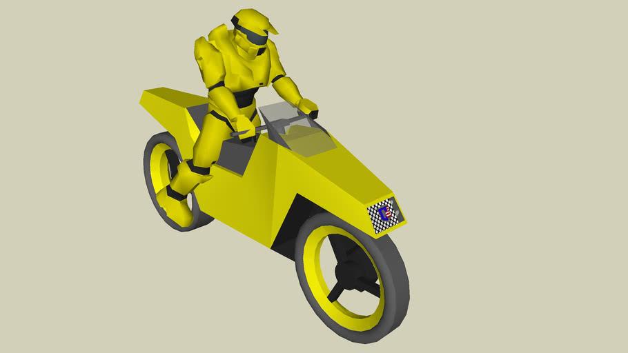 spartan on G-10 roadbike