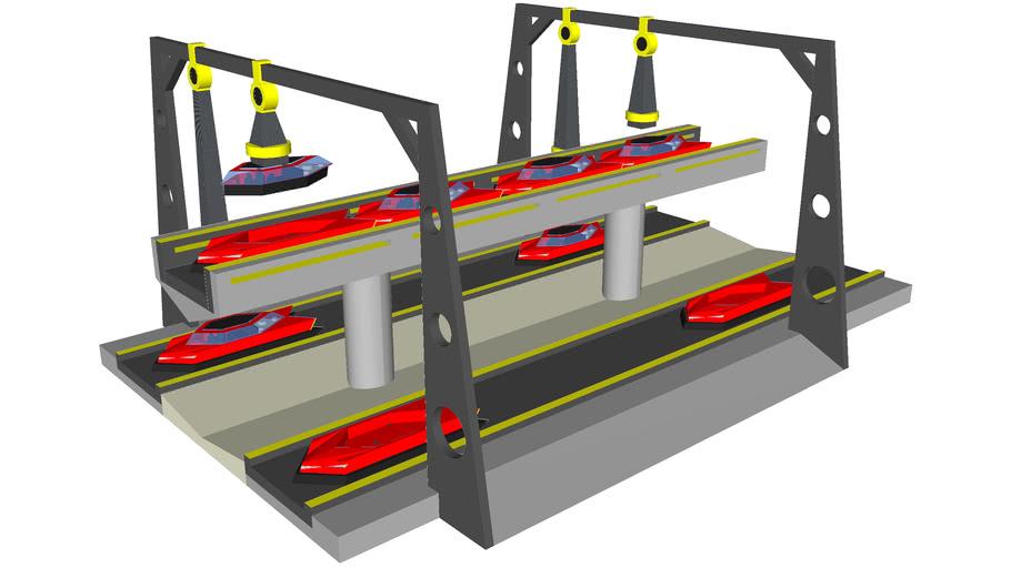 Concept Maglev Docking Station
