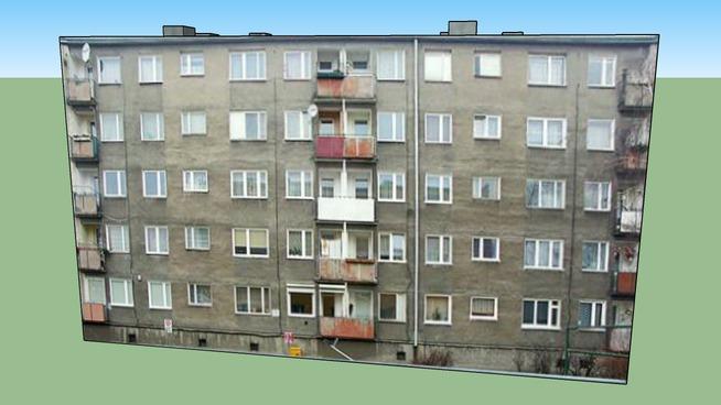 Blok Malborska 8 w Gdańsku - 3D