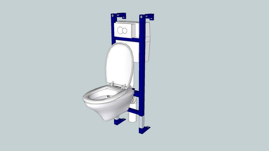 "WC suspendu ALLIA  modèle ""Chamade"""