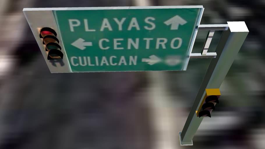 SEMAFORO INSRGENTES Y EJERCITO MEXICANO  (PLAYA)