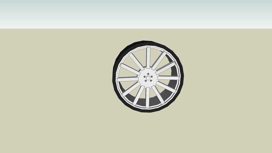 Luxury Car Wheel