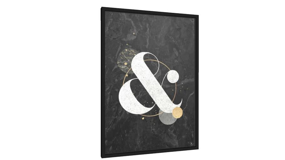Quadro And black - Galeria9, por Larissa Grace