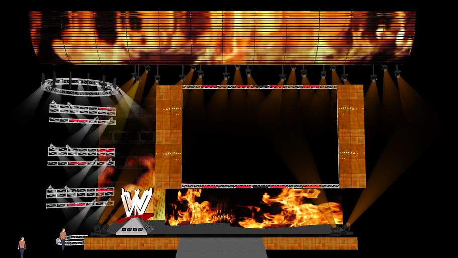 WWE Kane HD Stage