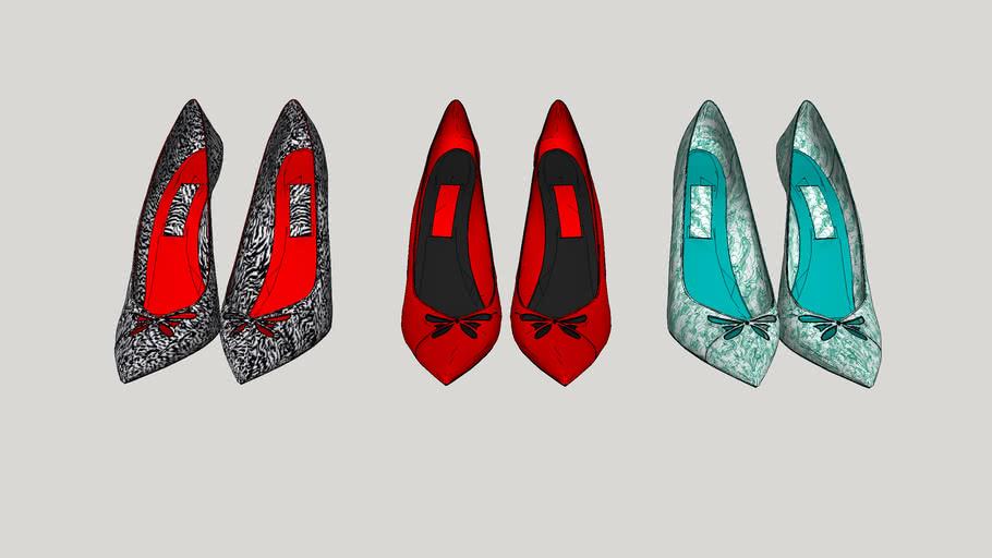 Decoração de closet - Sapato