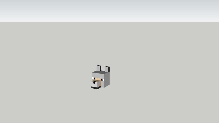 b7 minecraft dog