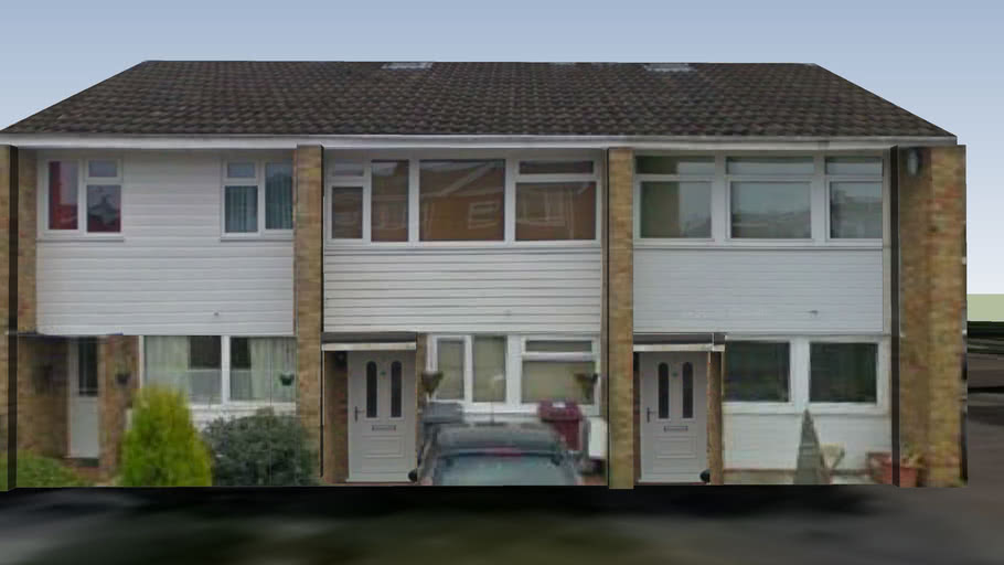 House in Dalton Close, Reading, Berkshire, UK