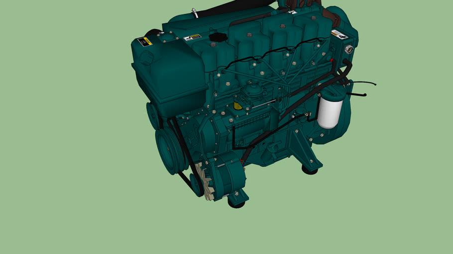 (concept) TD4 vm Marine engine