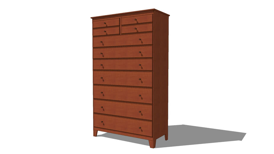 Classic Shaker Tall Chest