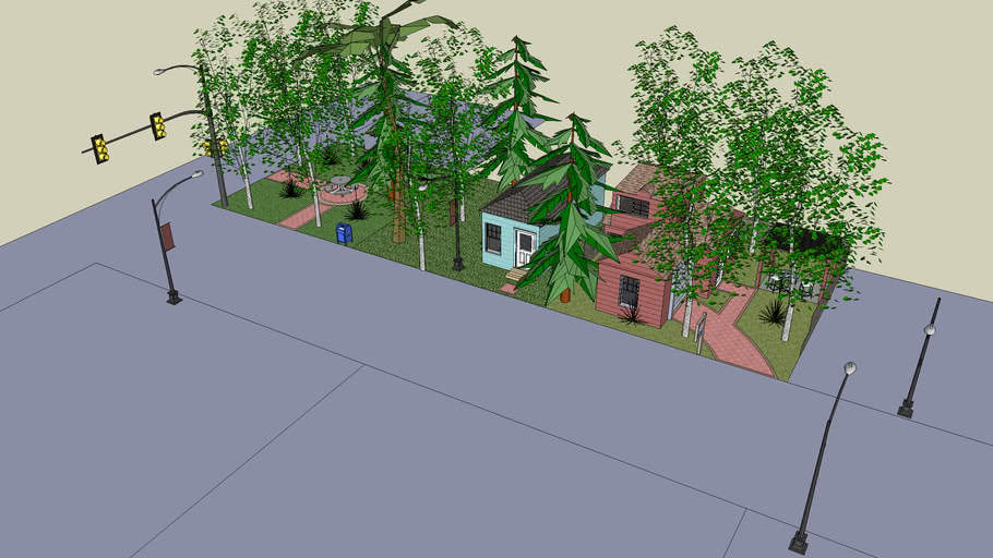 Small street (not complete)