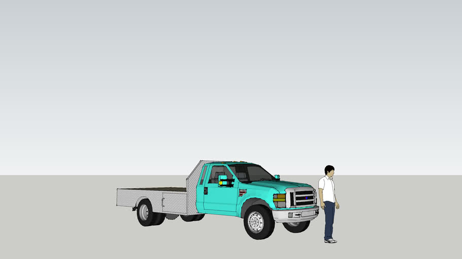 f350 flatbed truck