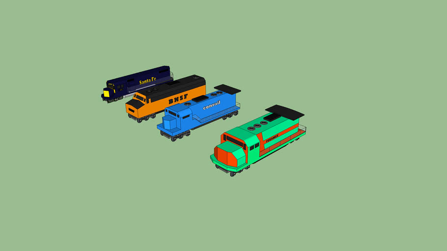 all of the engines ive made so far