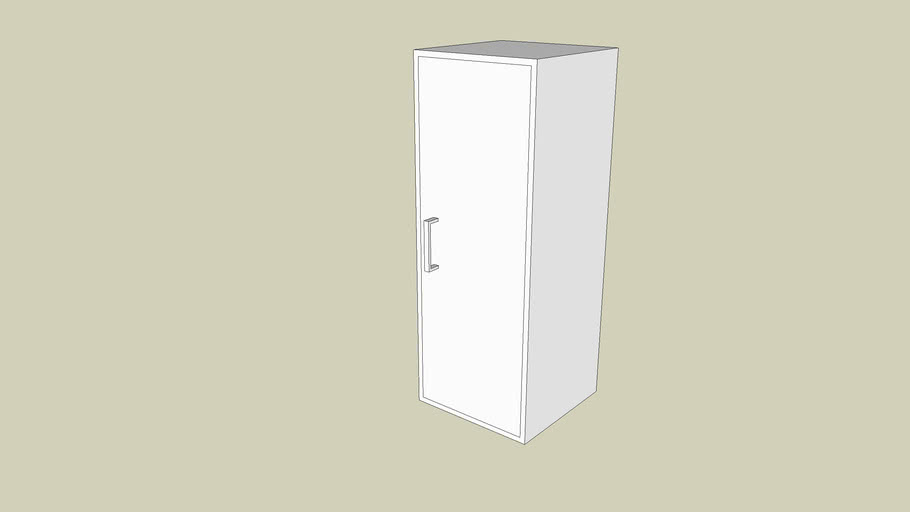 Storage cupboard 12x12x32