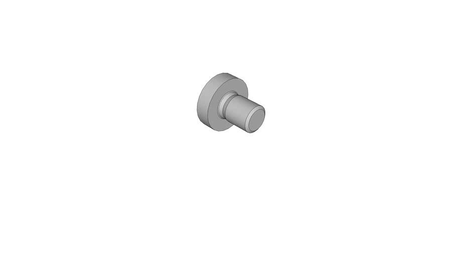11340102 Cross recessed raised cheese head screws DIN 7985 AM3x4