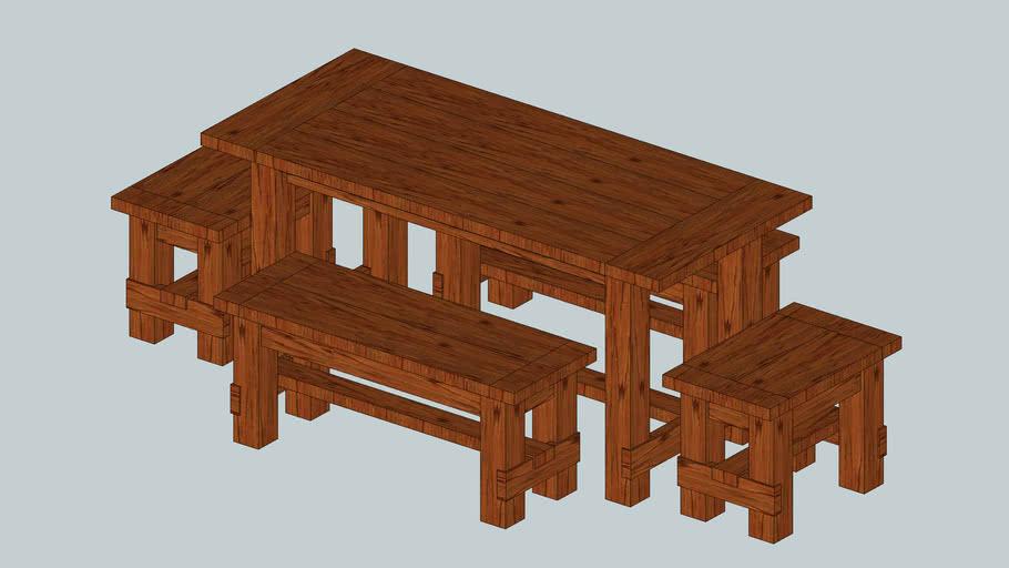 Oak Table 2x8