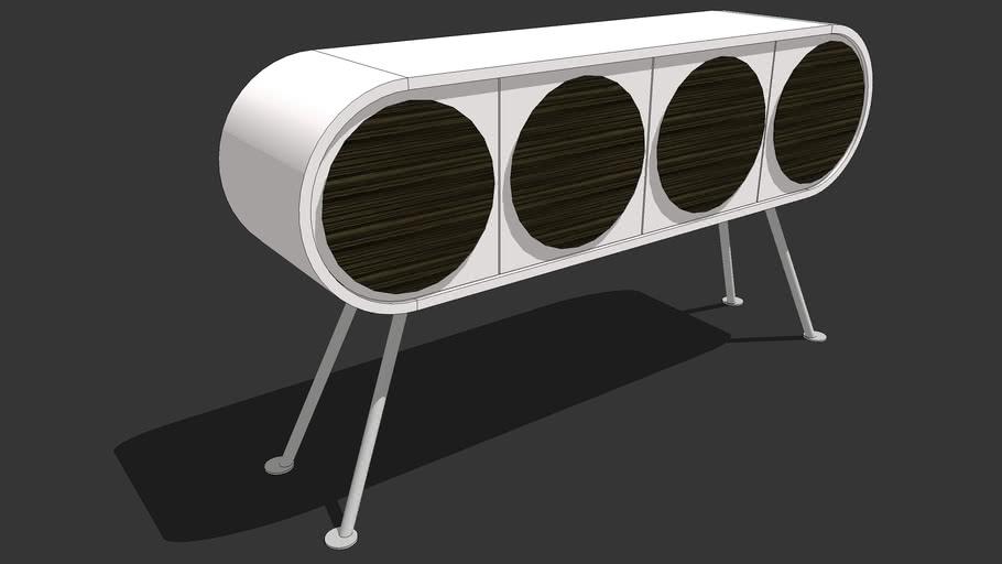 MOLODESIGN - Sideboard 4 doors