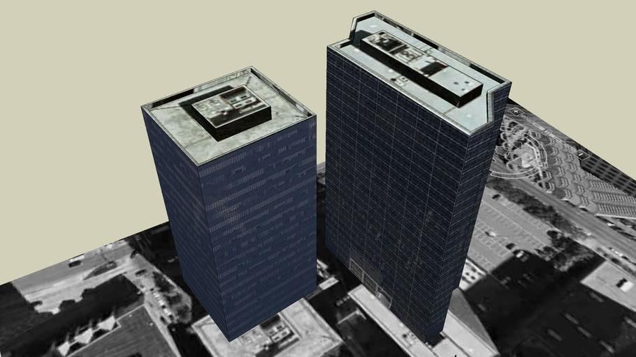 1250 Poydras Plaza and  Amoco Building