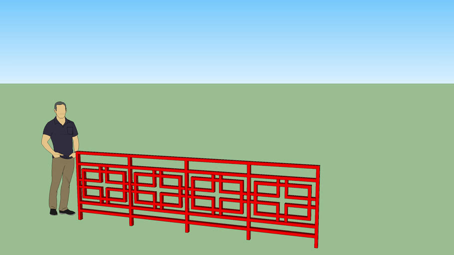 Chinese/Asian Fence