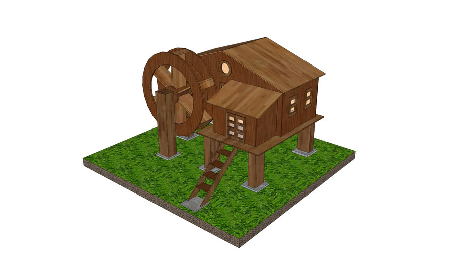 Water Wheel House