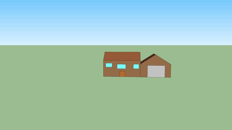3D house from google maps