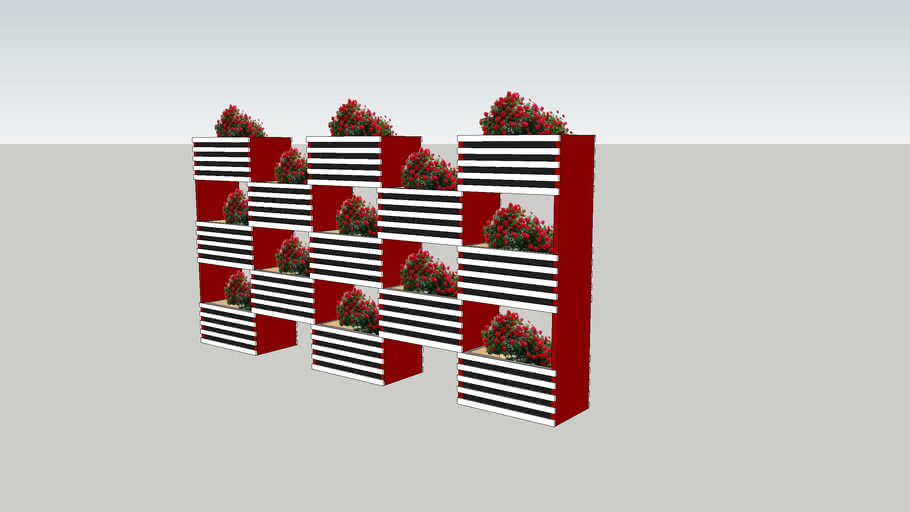 Floverbed of the boxes 4