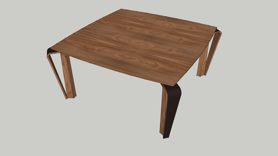 Table Dining Matisse 160x160x75_Louis Kazan_Casapronta