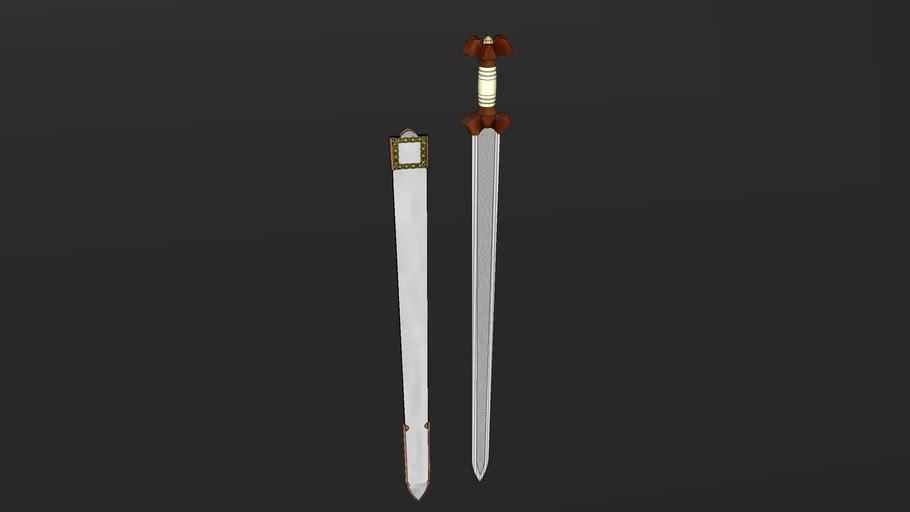 History of the Sword - Iron Age La Tene (500 BCE to 50 BCE) Celtic Sword - Templ Historic Arms