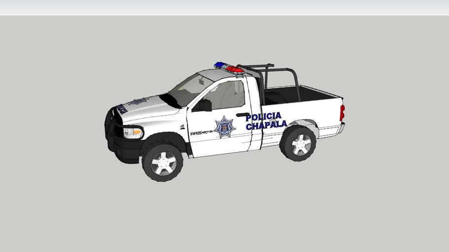 PATRULLA DE LA POLICIA MUNICIPAL DE CHAPALA JALISCO