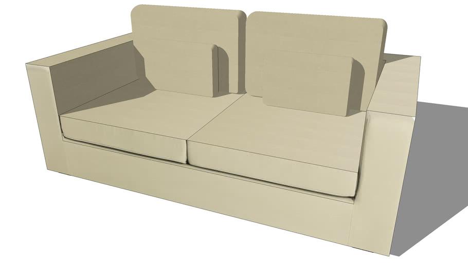 Canapé MILANO beige, Maisons du monde. Réf: 132.880 Prix:499€