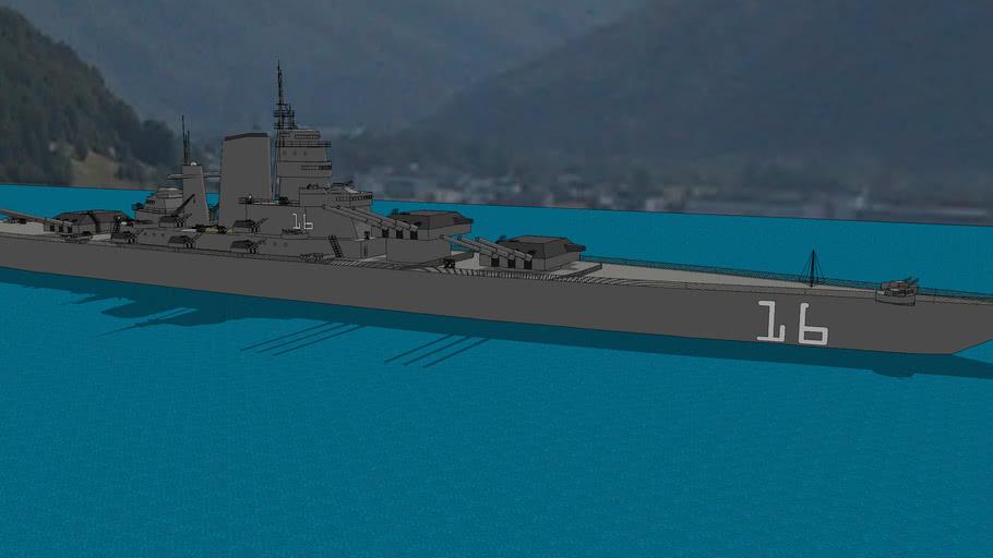 Spartan Class Battleship (updated)