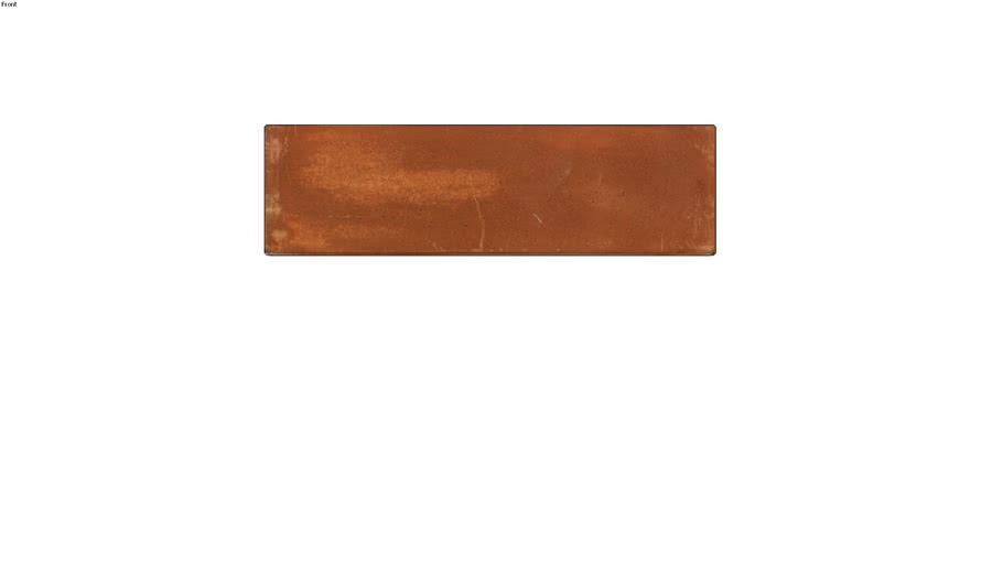 Tijolo Cimentício Terracota