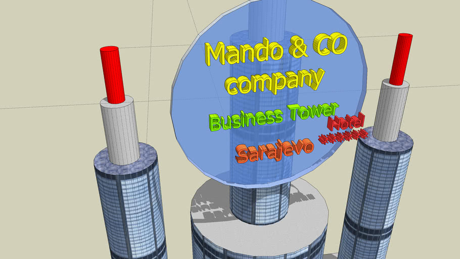 mando business tower & sarajevo  plaza hotel