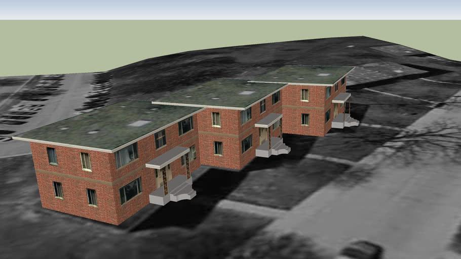 Purdue Hilltop Apartment Building 12