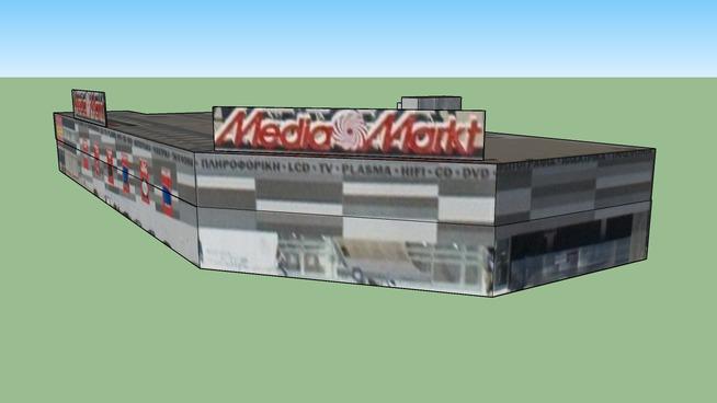 Media Markt in Peristeri, Griechenland