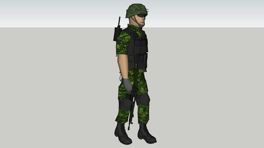 soldado de sedena de mexico