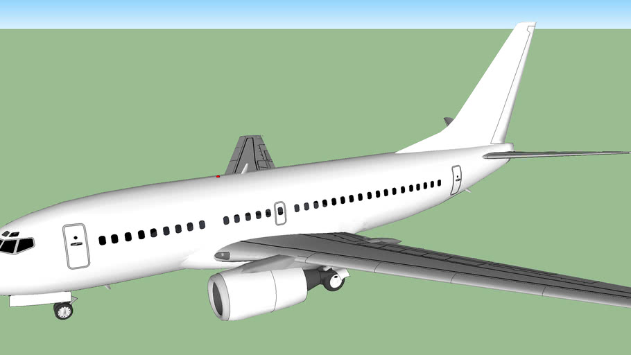 Template - Boeing 737-500